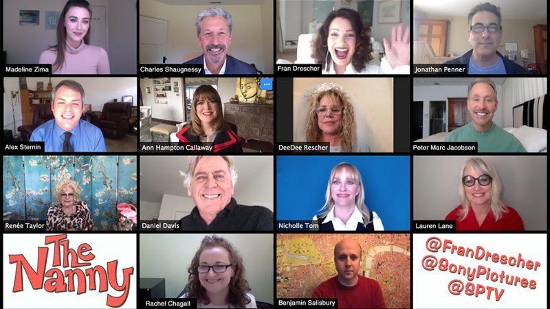 Gli attori de La Tata: reunion in videochiamata e lettura del primo episodio