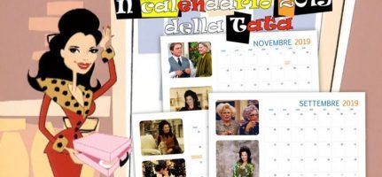Calendario 2019 di Tata Francesca