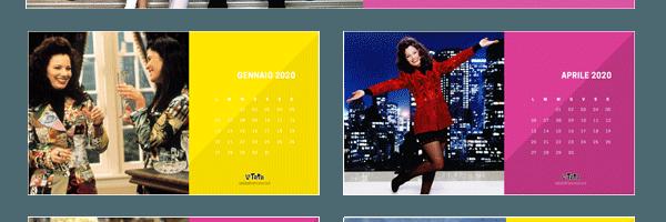 Calendario 2020 de La Tata